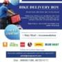 25 Bike Delivery Boys to Kuwait